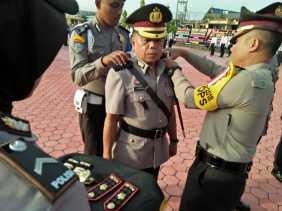 Kapolres Rohil Pimpin Upacara Sertijab Kasat Res dan Kapolsek Bagansinembah
