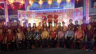 Festival Lampion Malam Cap Go Meh di Bagansiapiapi Meriah