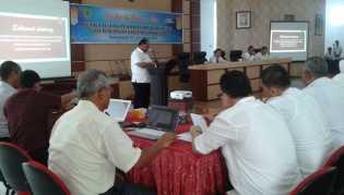 Plt Bupati Rohil Drs Jamiludin Buka Sosialisasi Perbup Tentang Manajemen Resiko