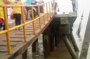 Masyarakat Khawatir, Tiang Penyangga Pelataran Pelabuhan Baru Bagansiapiapi Patah