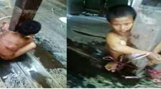 Curi Dua Buah Roti Karena Lapar, Abdul Anak Yatim ini Disiksa Pemilik...