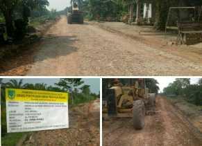 Dinas PUPR Rohil bantah proyek aucas jl. praka wahyudi Asal Jadi, Ini klarifikasinya...