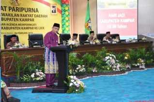 Gubernur Riau : Kampar Mampu Berkontribusi Terhadap Riau