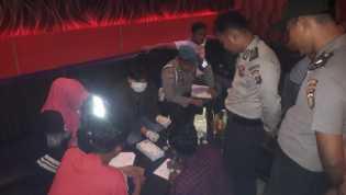 Polres Rohil Razia Cipkon Ditempat Hiburan Malam 5 Pengunjung Positif Narkoba