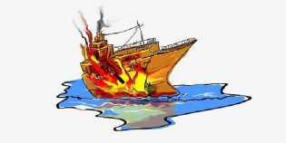 Kapal MT Adinda Meledak di Perairan Riau