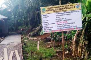 Diduga, Pjs Pengulu Labuhantangga Hilir Bangun Jalan Pribadi Pakai Dana Desa
