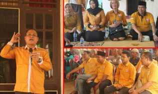 Ketua Hanura Rohil, Cutra Andika:  Masyarakat Pilih Caleg Itu Programnya Bukan Wani Piro