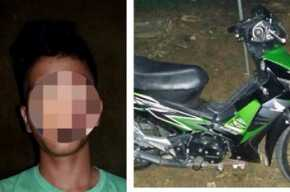 Pelaku Curanmor, Warga Baganbatu Ditangkap Polisi di Tanah Putih, Rohil