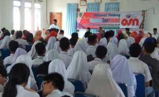 Plt.Bupati Rohil Drs Jamiludin Buka OSN Tingkat Kabupaten