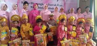 Kunker ke Polres Rohil, Ketua Bhayangkari Riau : Banyak Anak Terjerumus Narkoba