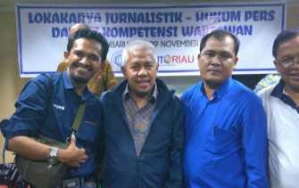 Dewan Pers Tegaskan Kasus Wartawan di Riau Diduga Kriminalisasi