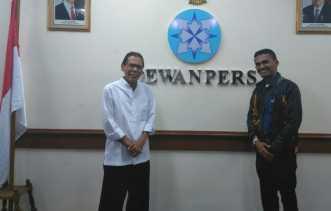 Dewan Pers Panggil Pimpinan Media di Riau Terkait Berita Sidang Bupati Bengkalis