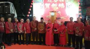 Plt Bupati Rohil Jamiludin Buka Perayaan Awal Tahun Baru Imlek 2569