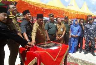 Bupati Rohil Resmikan Puskesmas Termegah di Riau