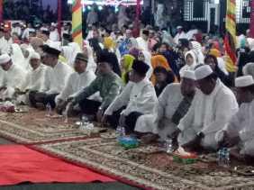 Sambut Tahun Baru 2019 Ribuan Masyarakat Rohil Hadiri Istigosah dan Doa Kubro