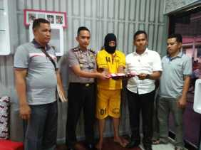 Warga Baganhulu Ditangkap Polsek Bangko Bersama BB Sab   u Senilai Puluhan Juta