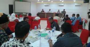 DLH Rohil Expose Kajian Ganti Rugi Lingkungan Dampak Limbah PT. SRM