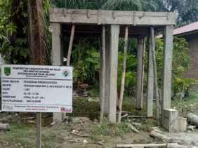 WARNING! Proyek Sumur Bor Desa Raja Bejamu Terkesan Mark up, Dana Cair Kerja Tak Siap