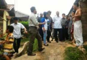 Syamsuar Janjikan Bangun Jalan Menuju Pasar Minas Tahun Depan