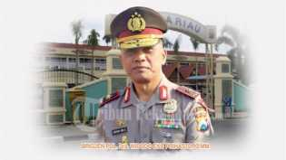 Kapolda Riau Lirik Judi Cap Ji Ki di Panipahan Rohil