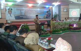 Plt Bupati Rohil Drs Jamiludin Buka Musrenbang RKPD Kabupaten Tahun 2018