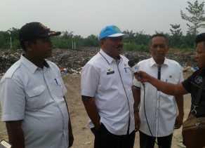 Persiapan Lomba Kebersihan Kota Se-Riau, DLH Rohil Benahi TPA Bagansiapiapi