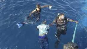 Pelajar MTs Nurul Huda Tebing Tinggi Tenggelam di Laut