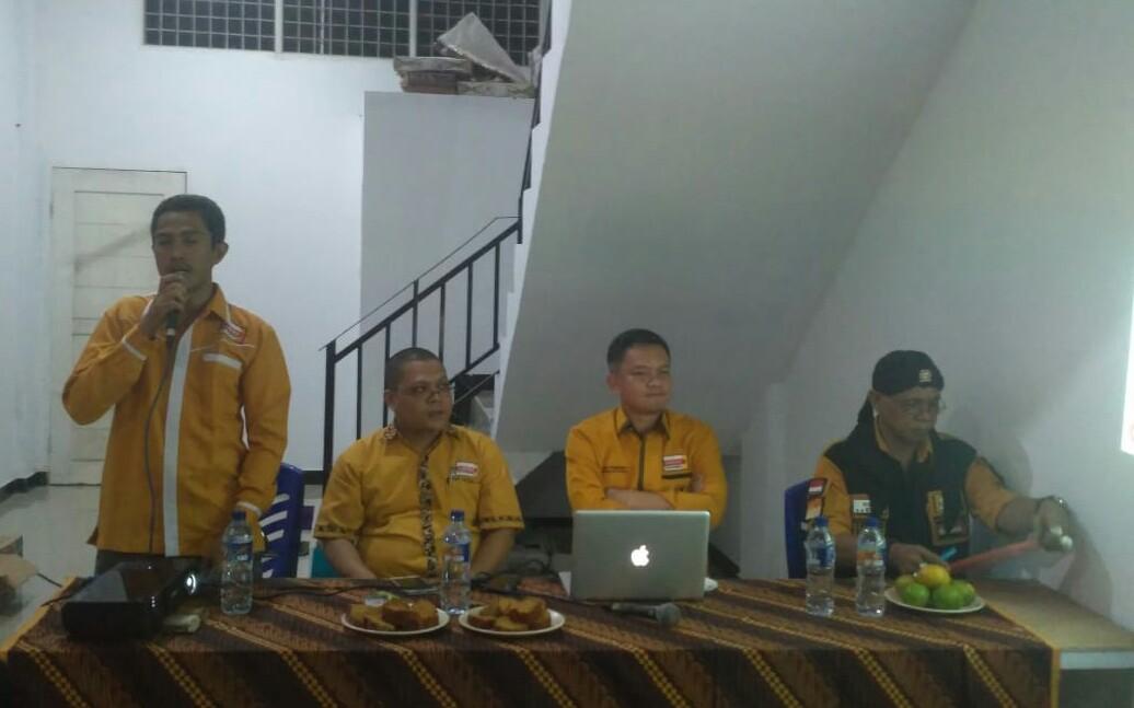 Hamzah Pimpin Koordinasi Hanura Riau di Bahtera Makmur Rohil