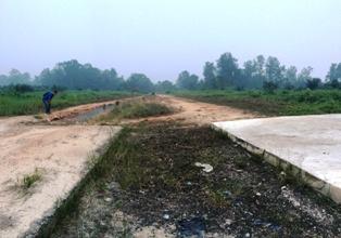 Parah...Dianggarkan Rp35 Miliar, Proyek Jalan Pesisir Terbengkalaii