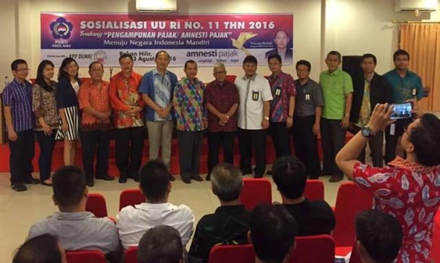 DPRD Riau Sosialisasi UU No II Tahun 2016 Tentang