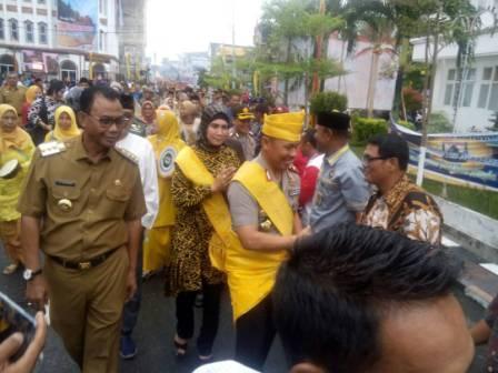 Kapolda Riau Berkunjung ke Rohil, Tempat Judi Gelper Sementara Ditutupi