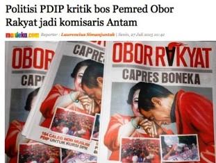 "Bos Pemred Obor Rakyat Jadi Komisaris BUMN, Jadi ""OBOR RAKYAT"" BIKINAN SIAPA?i"