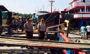 Cegah Narkoba dari Jalur Laut, Polres Dumai Perketat Pengawasan Pelabuhan Tikusi