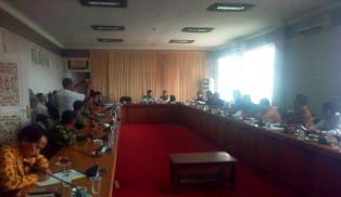 Hearing Kasus Securit PT Serang Warga Ukui, DPRD Putuskan di Tunda Hingga Jum'ati
