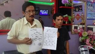 Evi Laporkan Anggota DPRD Rohil Ke Polda Riaui