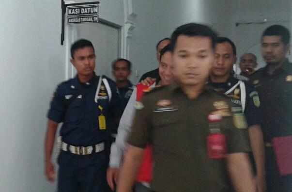 Rudi Bintoro!! Pengulu Terpilih Jalani Sidang Perdana di Tipikori