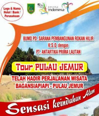 Promosikan Wisata, BUMD Rohil Akan Buka Jalur Pulau Jemur-Malaysiai