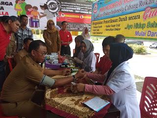 Bupati Rohil Suyatno: Tahun Ini Pemkab Masih Prioritraskan Program Kesehatan Masyarakati