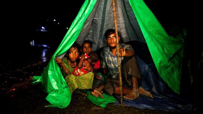 Bangladesh Usir 2 Ribu Pengungsi Rohingya Termasuk Anak-anaki